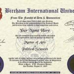 Bircham International Master