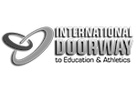 International doorway to education and athletics logo